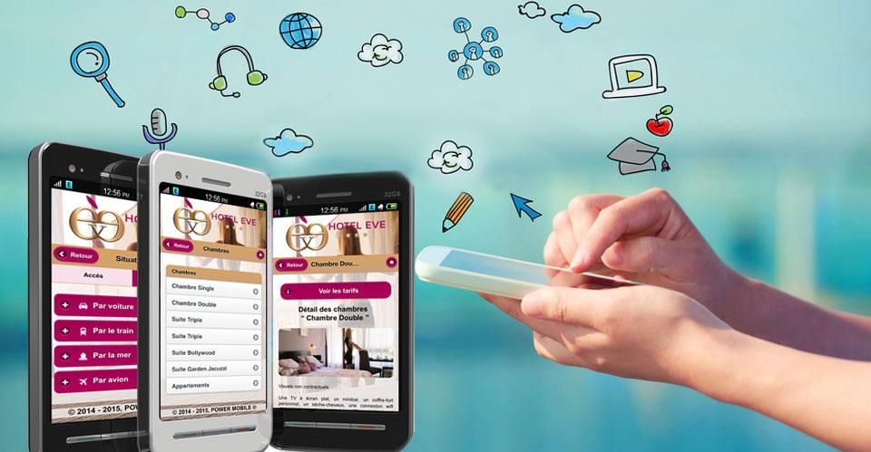 Conception sites mobiles : Infolien agence webmarketing